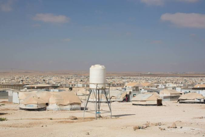 Zaatari Refugee Camp in Jordan, courtesy of Humans of New York http://www.humansofnewyork.com/post/94726975821/the-zaatari-refugee-camp-is-twelve-kilometers