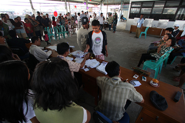 2009 Elections in Indonesia. Photo courtesy of Josh Etsey and Australia's Department of Foreign Affairs and Trade used under a creative commons license.