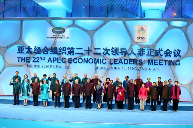 Leaders gathered for the  APEC Summit in Beijing this week,