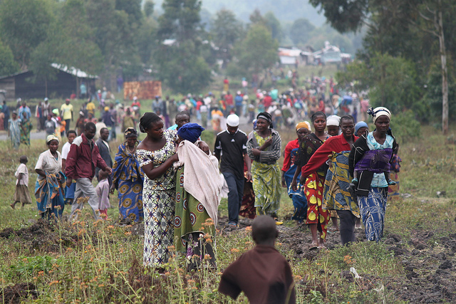 Possible Caption: Thousands of Congolese live near Goma, DRC, where rape rates are still high. Photo courtesy of Marie Cacace/Oxfam 2012