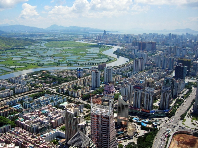 Shenzhen_CBD_and_River